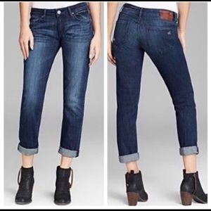 DL1961 Size 25 Riley Nassau Boyfriend Jeans